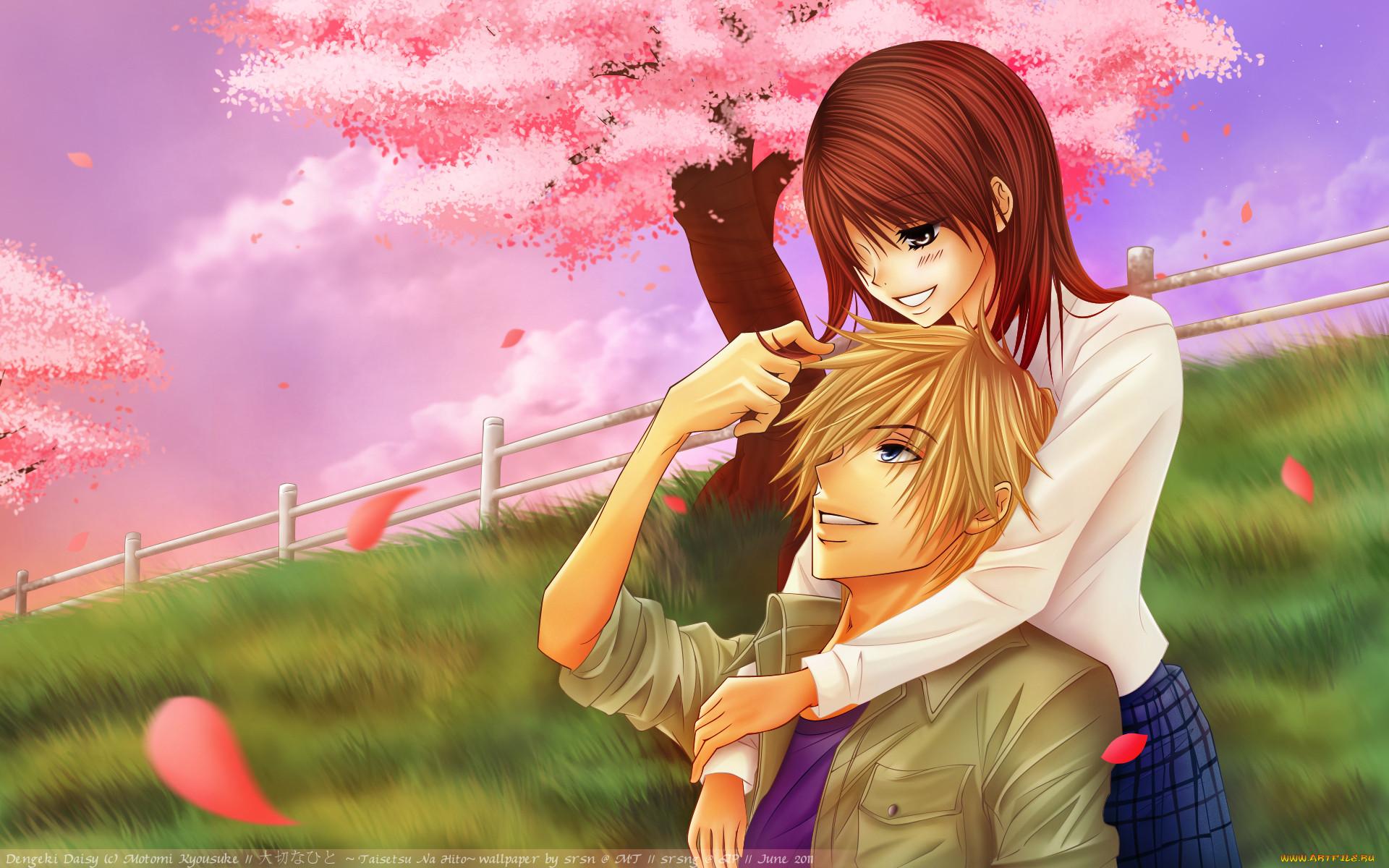 Аниме любовь картинка